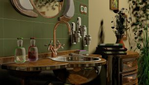 Badkamer reinigen